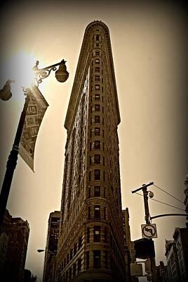 Flatiron Sepia Original by Randy Aveille