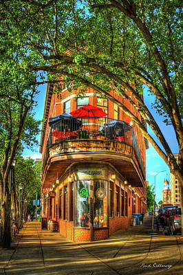 Pickled Photograph - Flatiron Style Pickle Barrel Building Chattanooga Tennessee by Reid Callaway