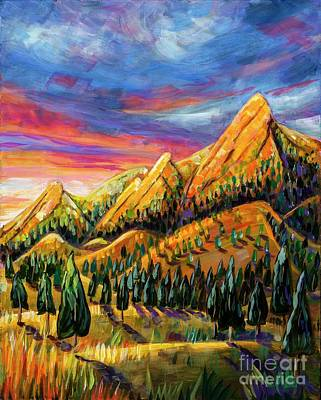 Painting - Flatirons Sunrise by Harriet Peck Taylor