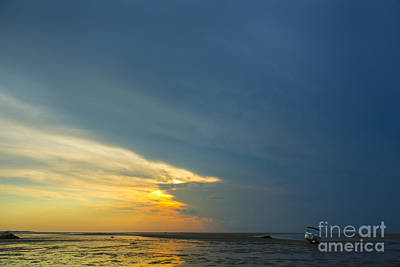 Storm Clouds Cape Cod Photograph - Flats Of Brewster, Cape Cod by Diane Diederich