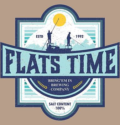Digital Art - Flats Time by Kevin Putman