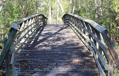Photograph - Flatwoods Bridge by Patricia Spicuzza