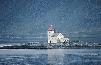 Flavar Lighthouse  Art Print