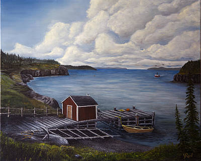 Painting - Flavor Of Newfoundland by John Reid