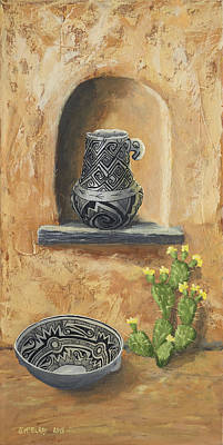 Anasazi Painting - Flavor Of The Southwest by Jerry McElroy