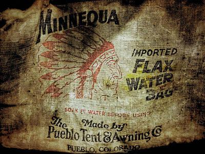 Photograph - Flax Water Bag by Bill Owen