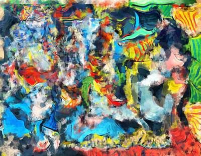 Digital Art - Flea Market Abstract by Maciek Froncisz