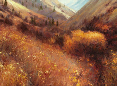 Painting - Flecks Of Gold by Steve Henderson