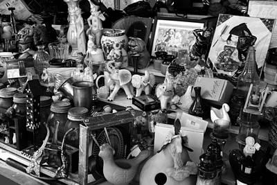 Photograph - Flee Market by Kathleen Stephens