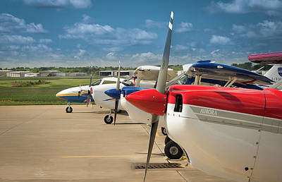 Photograph - Fleet On The Ramp by Phil Rispin