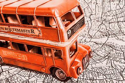Travelling Wall Art - Photograph - Fleet Street by Jorgo Photography - Wall Art Gallery