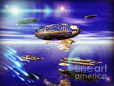 Digital Art - Fleet Tropical by Jacqueline Lloyd