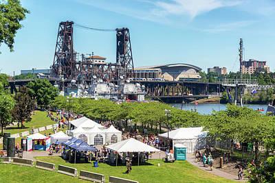 Moda Photograph - Fleet Week In Portland Oregon by Jess Kraft