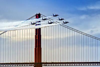 Fleet Week Photograph - Fleet Week San Francisco 2012 by David Yu