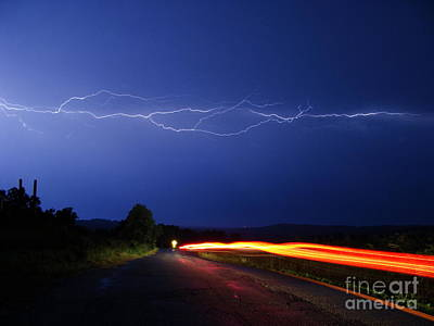 Photograph - Fleeting Moment Rush by Mike Bruckman