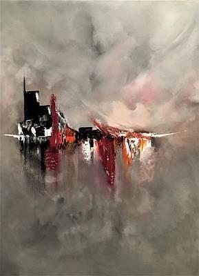 Painting - Fleeting by Soraya Silvestri