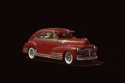 Photograph - Fleetline Chevrolet by Cathy Anderson