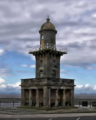 Photograph - Fleetwood Lower Lighthouse by Anthony Dezenzio