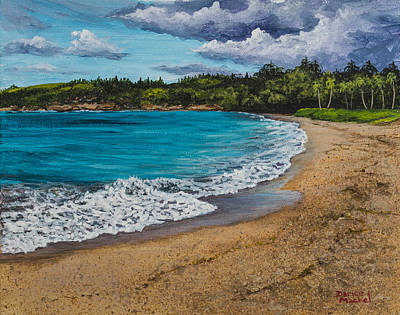 Painting - Fleming Beach Maui by Darice Machel McGuire