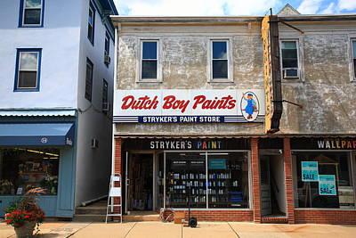 Photograph - Flemington Nj Storefront 1 by Frank Romeo