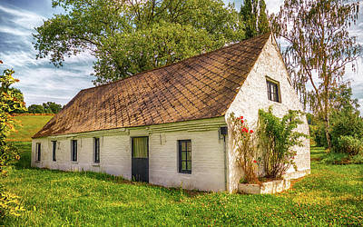 Belgian Photograph - Flemish Cottage by Wim Lanclus