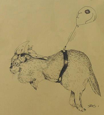 Flemish Zeppelin Art Print by InKibus
