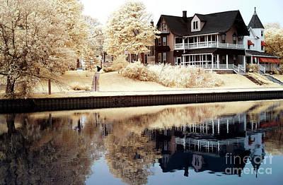Photograph - Fletcher Lake Reflections by John Rizzuto