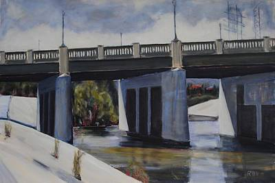 Painting - Fletcher Street Bridge by Richard Willson