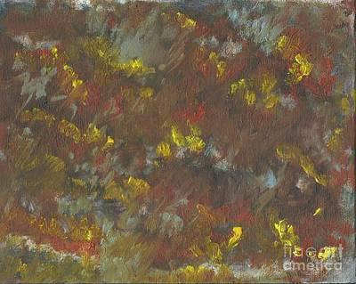 Painting - Fleurs by Joe Leahy