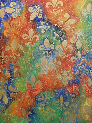 Painting - Fleur De Arcencial by Made by Marley