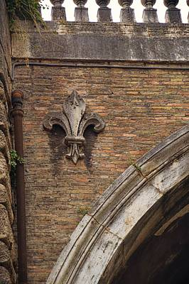 Photograph - Fleur De Lis On Via Giulia by JAMART Photography