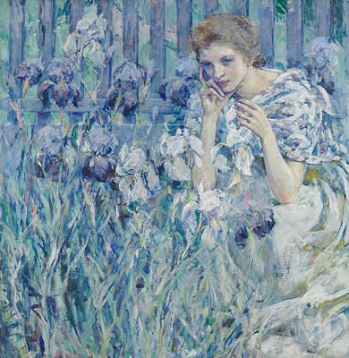 Painting - Fleur De Lis by Robert Reid