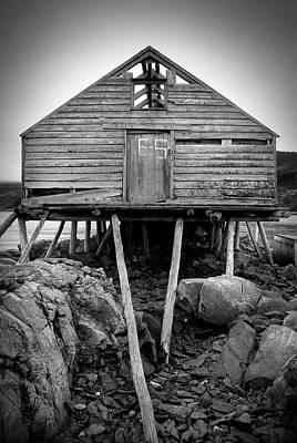 Photograph - Fleur De Lys, Newfoundland by Joshua Hakin