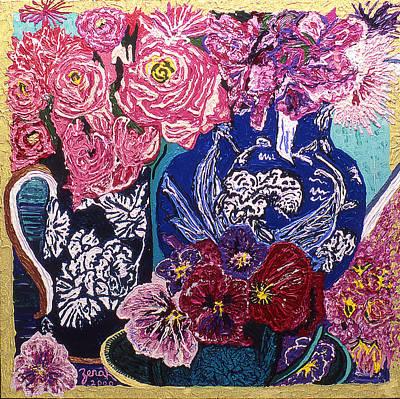 Fleur De Vessel Deux Original by Lorin Zerah