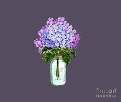Fleur D'hortensia Art Print by Anne Kitzman