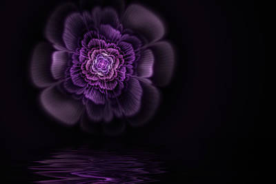 Abstract Digital Art Digital Art - Fleur by John Edwards