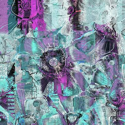 Digital Art - Fleurelle - B11btj3c2 by Variance Collections