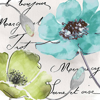 Fleurs De France  Original by Mindy Sommers