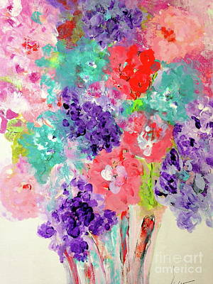 Fleurs De Printemps Original by Susan Wachter