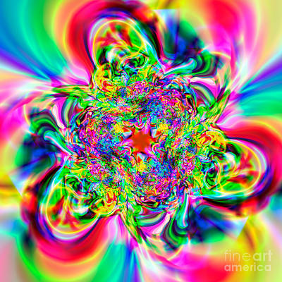 Abtract Digital Art - Flexibility 55a by Rolf Bertram