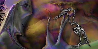 Digital Art - Flexible Herman by Steve Sperry