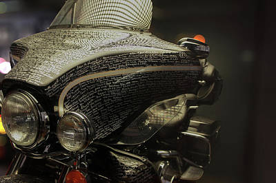 Sidecar Photograph - Flhtcui Ultra Classic Electra Glide With Sidecar Ohv V-twin by Art Spectrum