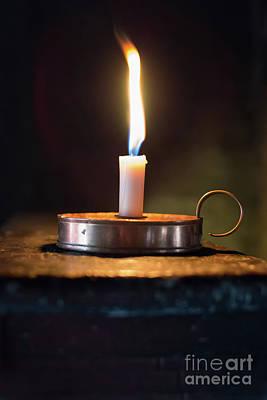 Flickering Flame Art Print
