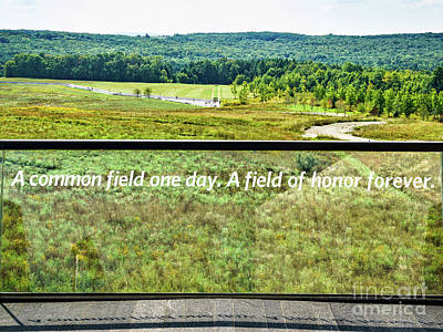 Photograph - Flight 93 - Final Flight Path by John Waclo