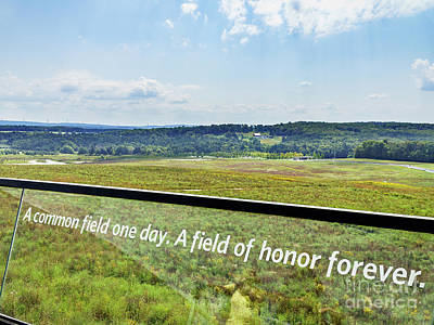 Photograph - Flight 93 Memorial by John Waclo