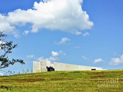 Photograph - Flight 93 Memorial - Visitor Center by John Waclo