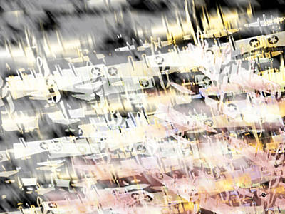 Flight Abstract Horizontal Original