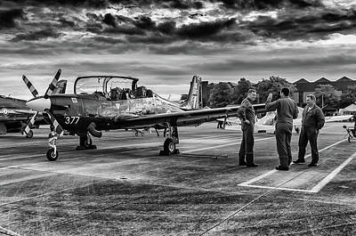 Photograph - Flight Crew by Cliff Norton