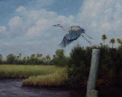 Flight From Ozello Original by Mitch Kolbe