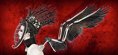 Digital Art - Flight by Jason Casteel